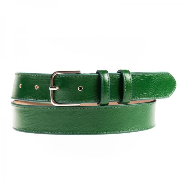 curea piele verde